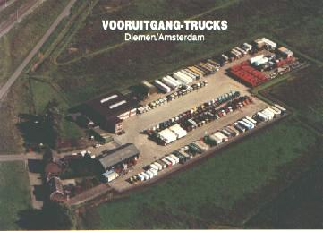 Aerial view of Vooruitgang-Trucks